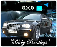 Chrysler 300 Baby Bentley in black